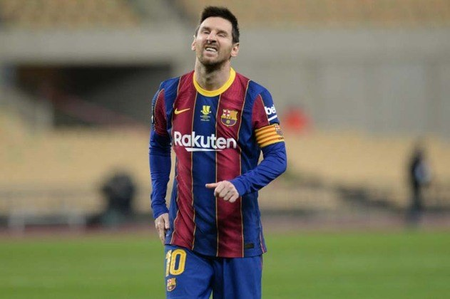 ESQUENTOU - Segundo a ESPN, o Barcelona estuda uma forma de convencer Messi a ficar no clube catalão, porém com uma redução salarial. A proposta do atual presidente do Barcelona seria reduzir o salário, mas dar um contrato de longo prazo