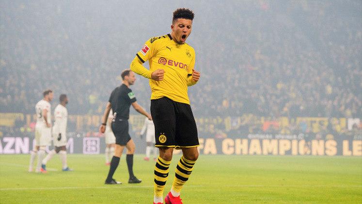ESQUENTOU - Segundo a SPORT1, Chelsea e Manchester United irão disputar a transferência de Jadon Sancho na próxima janela. O Borussia Dortmund pretende vender o ponta e o destino deve ser um dos dois ingleses.