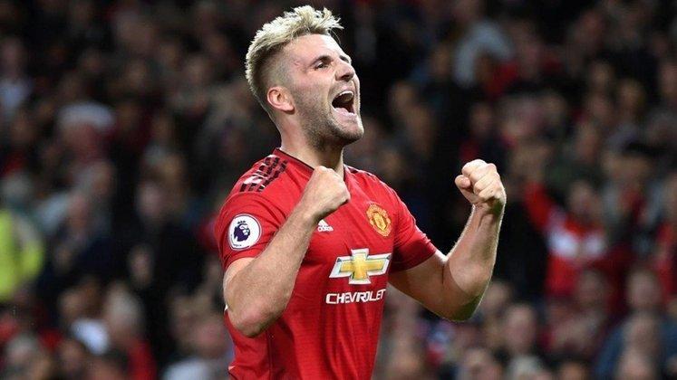 ESQUENTOU - Segundo Fabrizio Romano, o Manchester United já negocia com Luke Shaw  para renovar o contrato do lateral-esquerdo.