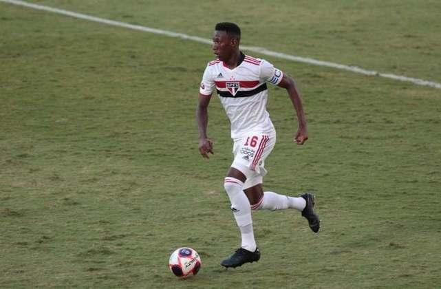 Essa lesão o tirou do jogo contra o Ceará. Em recuperação, deve ser titular contra o Corinthians.