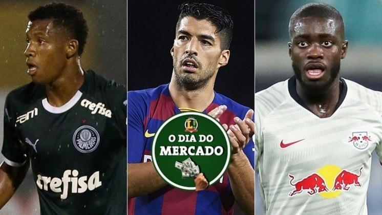 Essa quinta-feira foi de muita movimentação no mercado da bola. O Palmeiras definiu o futuro do volante Danilo, Suárez pode jogar em rival do Barça e o Real quer reforça para a zaga. Veja essas e outras negociações!