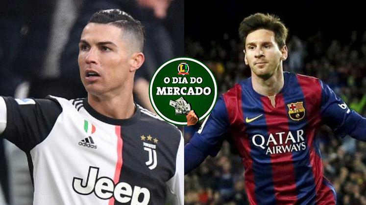 Essa segunda-feira foi agitada no mercado da bola. Na Itália, o astro Cristiano Ronaldo deve permanecer na Juventus, enquanto o Manchester City está mais longe de contratar Lionel Messi. Veja essas e outras negociações do vaivém. (Por Gabriel Santos).