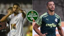 Santos recebe proposta por Veríssimo, Vitor Hugo de saída do Palmeiras… O Dia do Mercado