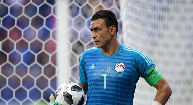 El Hadary tem 159 jogos pela seleção egípcia 20efb03a2a86e