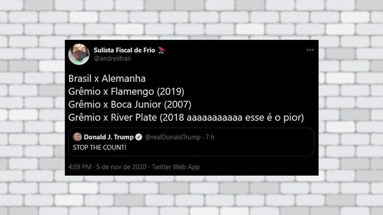 Esse gremista lembrou de alguns traumas com o clube na Libertadores da América