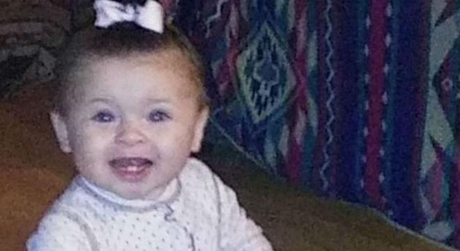 Esta bebê foi agredida por seus pais