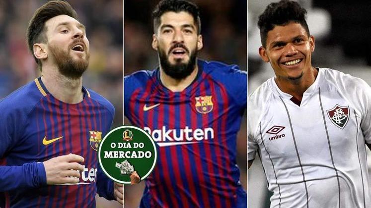 Esta sexta-feira foi de muita movimentação no mercado da bola e com ela a definição sobre o futuro de Lionel Messi. As situações de Suarez e Evanilson também tiveram novidades. Veja estas e outras negociações!