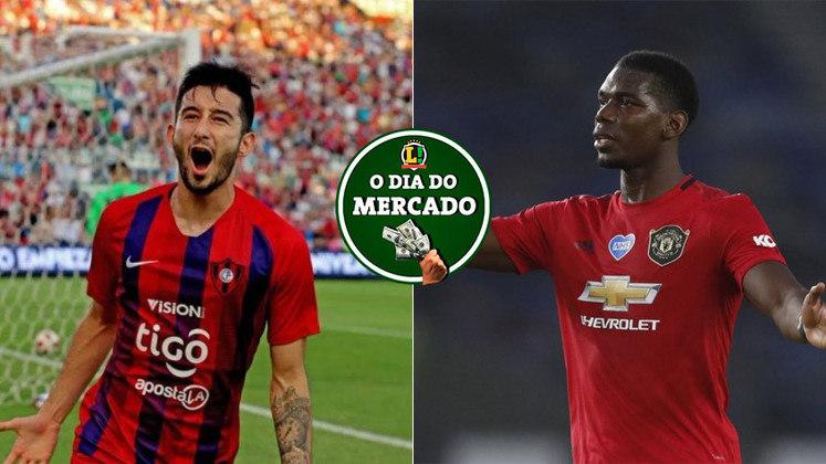 Esta sexta-feira foi muito agitada no mercado da bola. O Palmeiras negocia a contratação de um meia paraguaio do Cerro Portenho, enquanto Pogba pode se despedir do Manchester United em um futuro próximo. Veja essas e outras negociações do vaivém.