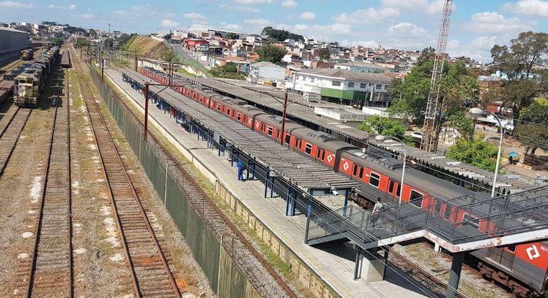 CPTM abre licitação para obras de acessibilidade na Estação Manoel Feio da linha 12-Safira