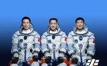 A China realiza, nesta quarta-feira (16),às 22h22, o lançamento da sua primeira missão tripulada para a nova estação espacial do país, que recebeu o nome de Tiangong (Palácio Celestial), e que ainda está em construção*Estagiário do R7 sob supervisão de Pablo Marques