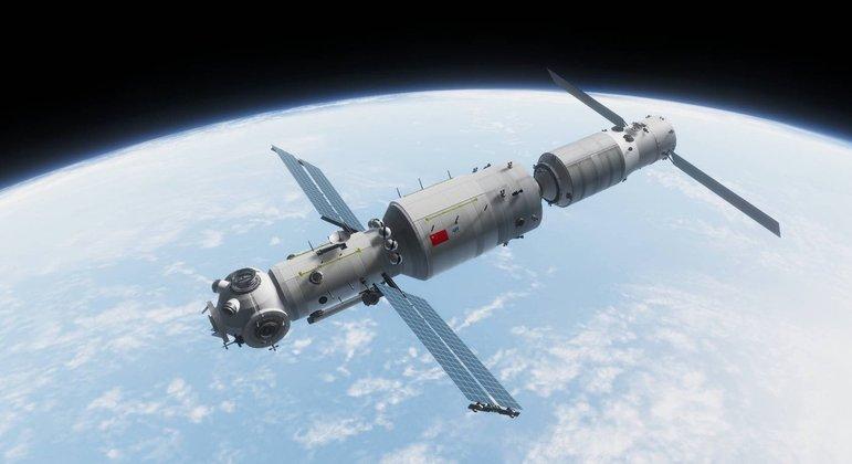 Estação Tiangong foi colocada em órbita em 29 de abril