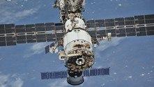 Cosmonautas encontram novas rachaduras na Estação Espacial