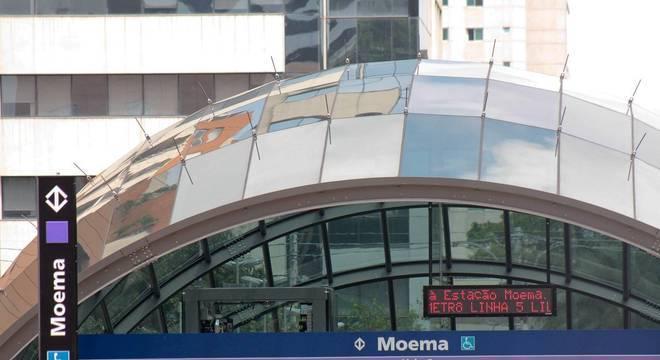 Estação Moema foi inaugurada em SP com quatro anos de atraso