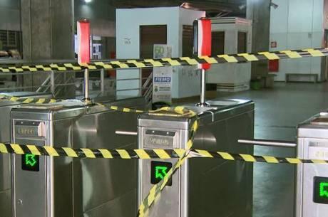 Terminal foi fechado às 19 horas da noite em BH