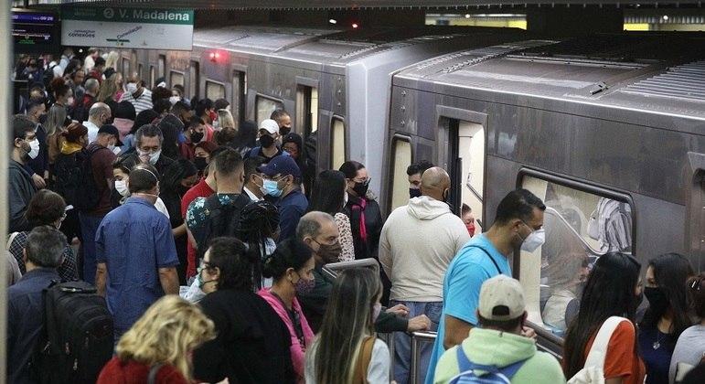 Estação Paraíso do Metrô, em SP