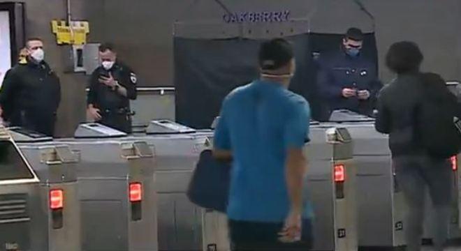 A partir de hoje, é obrigatório uso de máscaras no transporte coletivo de SP