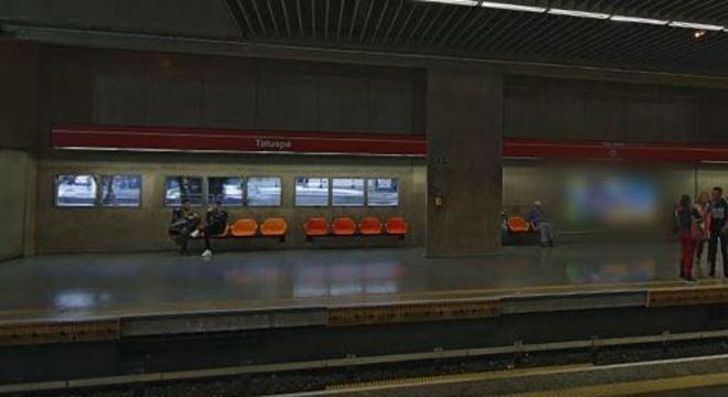 Ataque ocorreu na estação Tatuapé da Linha-3 Vermelha do metrô