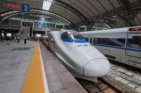 Cidade é importante hub de transporte ferroviário