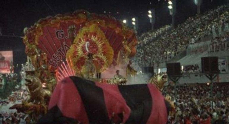 Estácio de Sá 1995 - Uma vez Flamengo