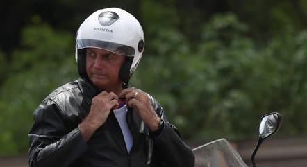 Bolsonaro parou para falar com apoiadores