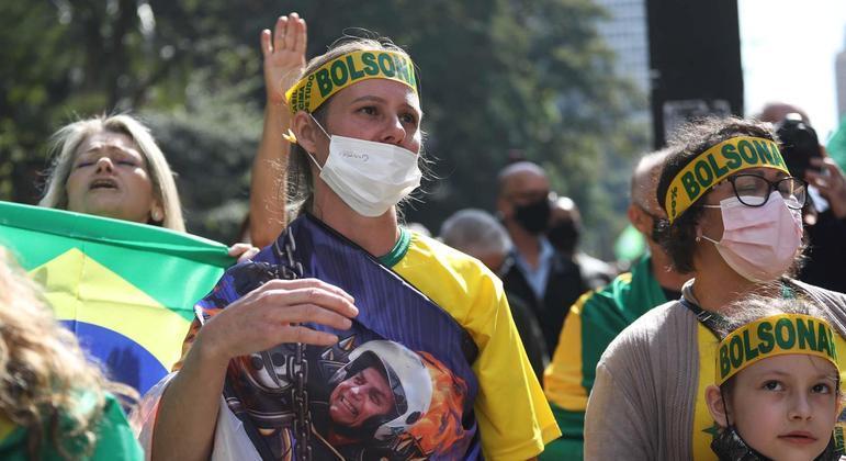 Em São Paulo, a manifestação se concentrou na Avenida Paulista