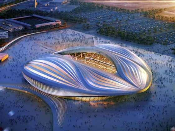 Estádio Al Janoub: Inaugurado em maio de 2019 e com capacidade para 40 mil pessoas, o estádio receberá jogo até a oitavas de final da Copa e a grande missão da nova arena é impulsionar o crescimento da região economicamente e de após a sua utilização, ter 20 mil assentos doados para projetos sociais de outros países. Devido ao calor do país, o estádio conta com um sistema de resfriamento que permite chegar a 18ºC