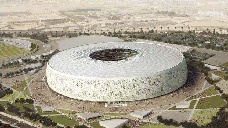 Estádio Al Thumama: Copa do Mundo 2022 - Capacidade: 40.000 - Previsão de entrega: 2022.