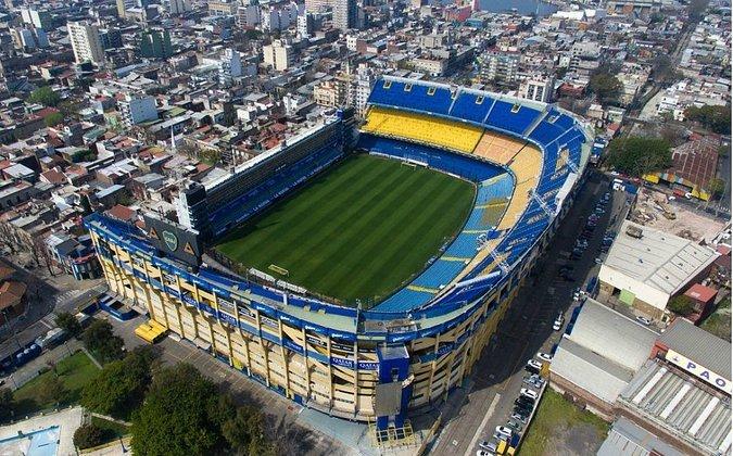 Estádio Alberto José Armando (La Bombonera) - Buenos Aires, Argentina - Inscrito para a final da Libertadores e da Sul-Americana de 2021, 2022 e 2023