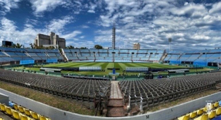 Estádio Centenário, em Montevidéu, no Uruguai, palco das finais da Libertadores e Copa Sul-Americana em 2021