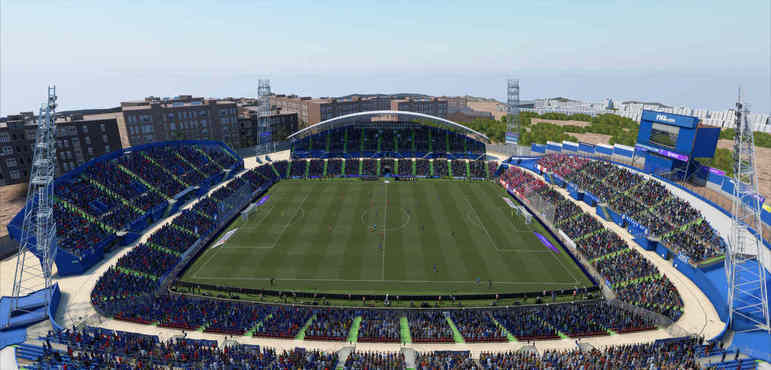 Estadio Coliseum Alfonso Pérez - Espanha