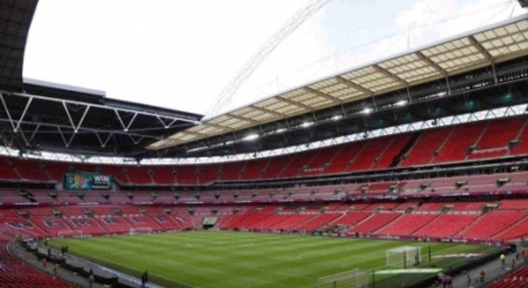 Estádio de Wembley está pronto para as semifinais