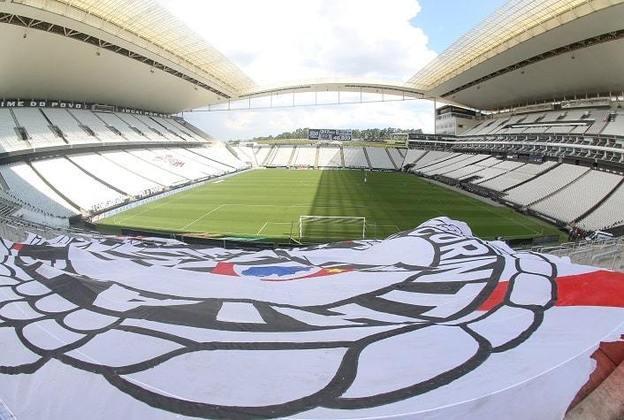 Estádio do Corinthians como mandante: Neo Química Arena.