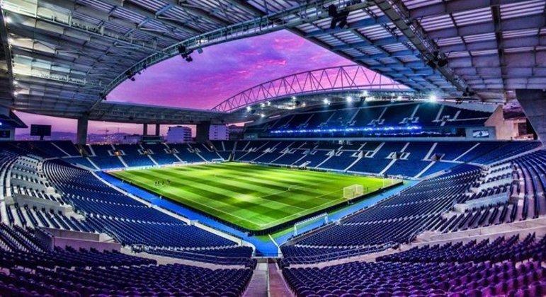 O estádio do Dragão, no Porto, em Portugal