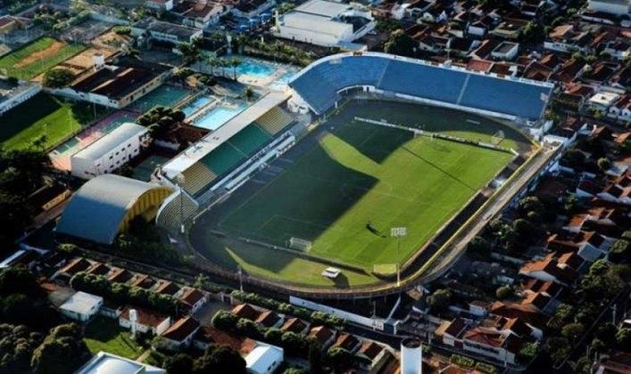 Estádio do Mirassol como mandante: Estádio Campos Maia.