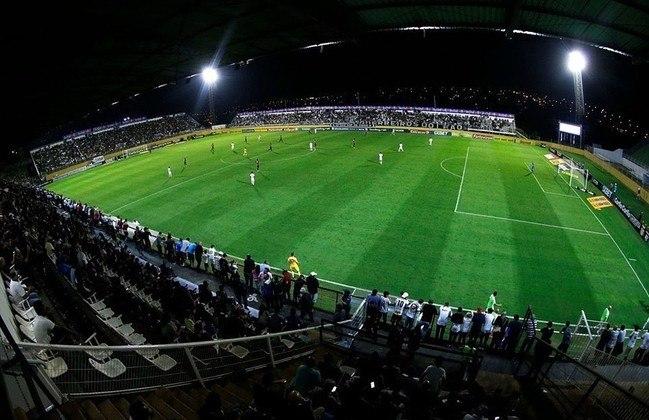 Estádio do RB Bragantino como mandante: Nabi Abi Chedid.