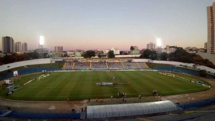 Estádio do Santo André como mandante: Estádio Bruno José Daniel.