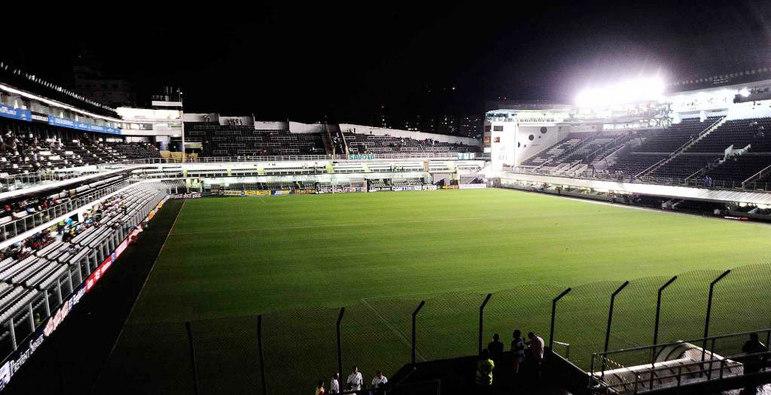 Estádio do Santos como mandante: Vila Belmiro.