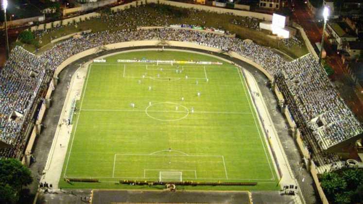 Estádio do São Bento como mandante: Estádio Walter Ribeiro.