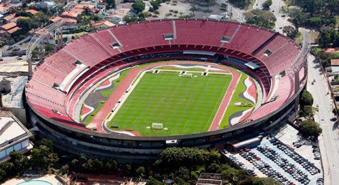 Estádio do Morumbi, na zona sul de São Paulo