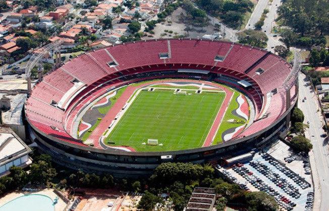 Estádio do São Paulo como mandante: Morumbi.
