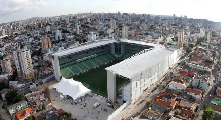 Estádio Independência, em Belo Horizonte. FPF confirma como local de Palmeiras e São Bento