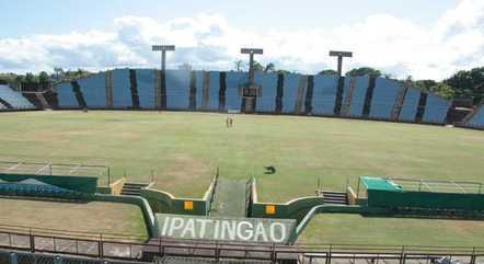 Estádio pode receber até 15% da capacidade total