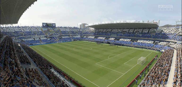 Estadio La Rosaleda - Espanha