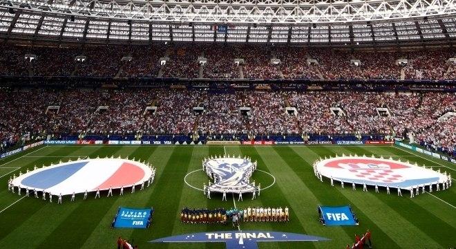 Estádio Luzhniki, palco da final da Copa do Mundo 2018
