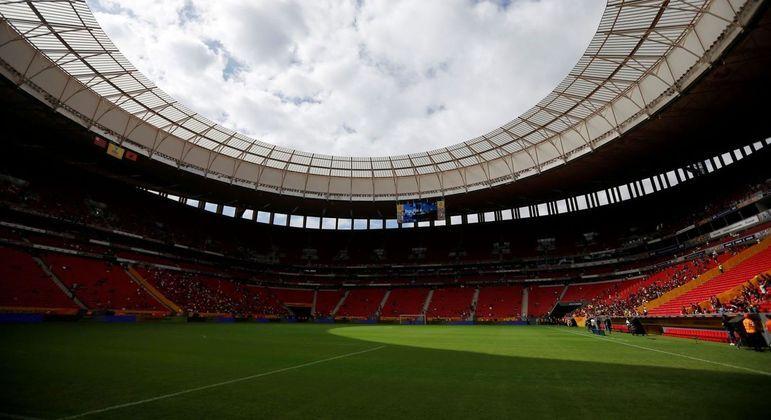 Vista do estádio Mané Garrincha, em Brasília (DF), um dos palcos da Copa América