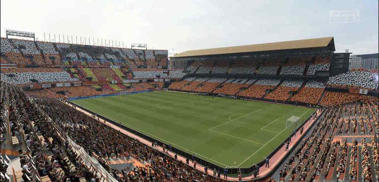 Estadio Mestalla - Espanha