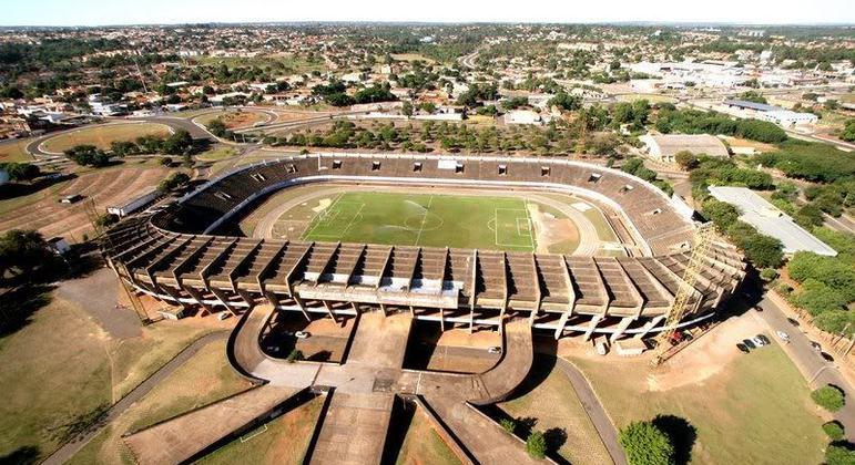 Estádio Morenão. Mato Grosso do Sul é uma das poucas opções para o Paulista