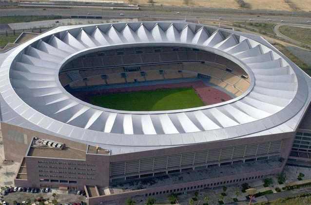Estádio Olímpico de La Cartuja, em Sevilha, na Espanha.