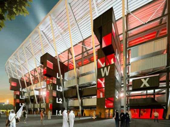 Estádio Ras Abu Aboud: Construído de forma inovadora, devido a sua estrutura com contêineres de carga, transformando-o na primeira arena provisória para uma Copa do Mundo, que ficará pronta ainda em 2021. O estádio faz homenagem ao porto de Doha e terá capacidade para 40 mil pessoas, sendo totalmente desmontado após a disputa do mundial. Serão disputados jogos da fase de grupos e das oitavas de final no estádio