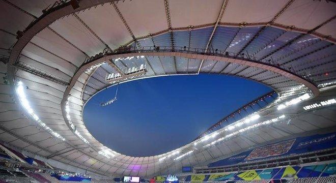Estádio terá temperaturas moderadas, graças a um sofisticado dispositivo tecnológico